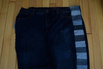 How to make jeans. Make Your Old Jeans Fit Like New - Step 3