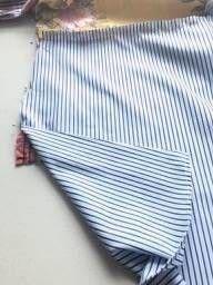 How to make a shirt. Men's Boho Shirt Upcycle - Step 3