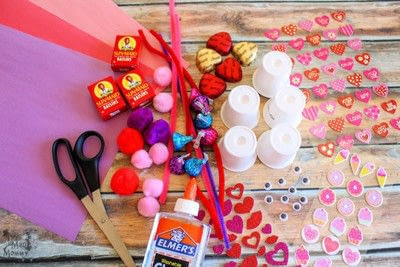 How to make a gift bag. Diy K Cup Candy Critter Valentines - Step 1