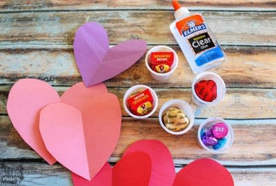 How to make a gift bag. Diy K Cup Candy Critter Valentines - Step 2