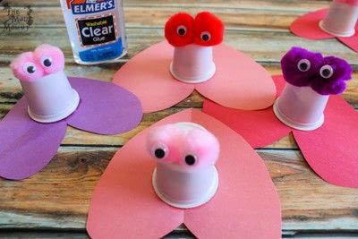 How to make a gift bag. Diy K Cup Candy Critter Valentines - Step 5