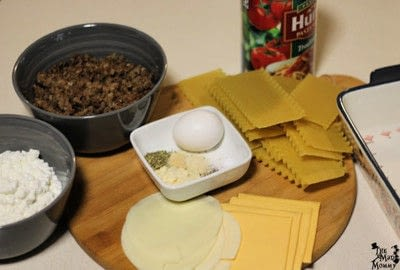 How to cook a lasagna. Lazy Lasagna - Step 1