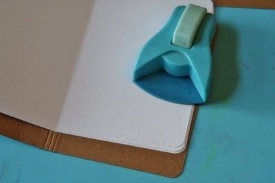 How to make a bound book. Creating On Kraft   Jot Journals! - Step 2
