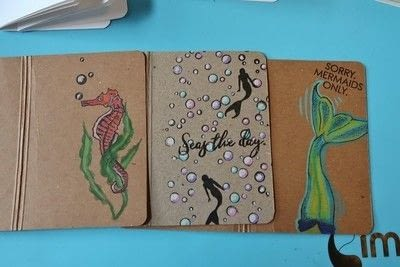 How to make a bound book. Creating On Kraft   Jot Journals! - Step 3
