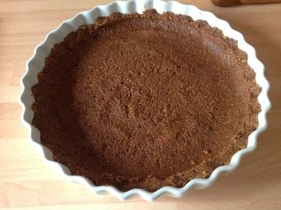 How to bake a chocolate tart. Chocolate Tart - Step 2