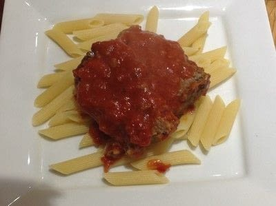 How to cook a beef dish. Beef Meatloaf with Tomato Gravy - Step 5