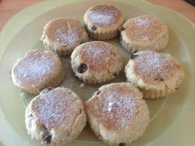 How to bake a fruit cake. Welsh Cakes - Step 8