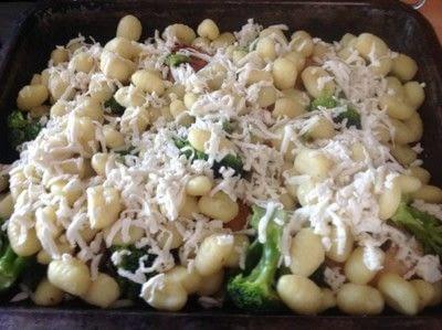 How to cook a chicken dish. Chicken & Broccoli Gnocchi  - Step 4