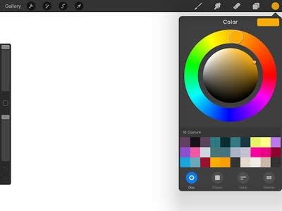 How to make a computer art. How To Create Custom Procreate Color Palettes  - Step 3