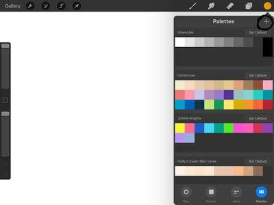 How to make a computer art. How To Create Custom Procreate Color Palettes  - Step 4