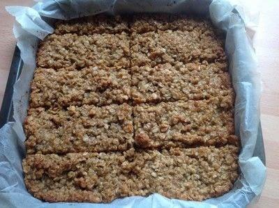 How to bake a flapjack. Peanut Butter Flapjacks  - Step 4