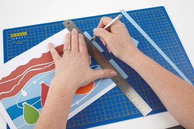 How to cut a piece of papercutting. Basking Balloons - Step 12