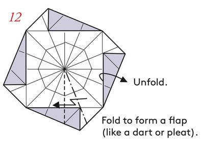 How to fold an origami box. Pyramid Boxes - Step 11