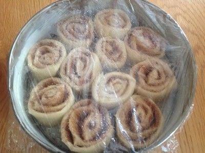 How to bake a cinnamon roll. Cinnamon Buns - Step 8