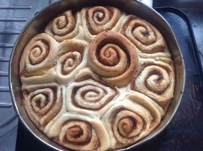 How to bake a cinnamon roll. Cinnamon Buns - Step 9