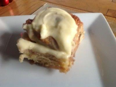 How to bake a cinnamon roll. Cinnamon Buns - Step 14