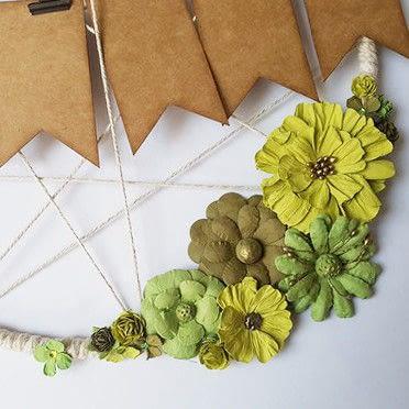 How to make a home accessory. Home Deco Ring Spring - Step 6