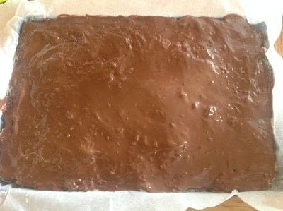 How to bake a bar / slice. Easter Egg Bars - Step 4