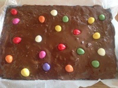 How to bake a bar / slice. Easter Egg Bars - Step 5
