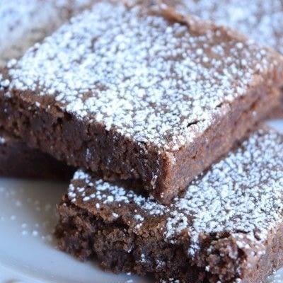 How to bake a brownie. Grandma's Easy One Bowl Brownies - Step 1