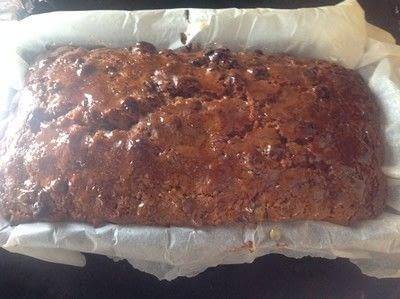 How to bake a fruit cake. Brambrack - Step 5