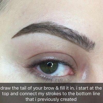 How to makeover an eyebrow. Bold Eyebrow Tutorial - Step 2