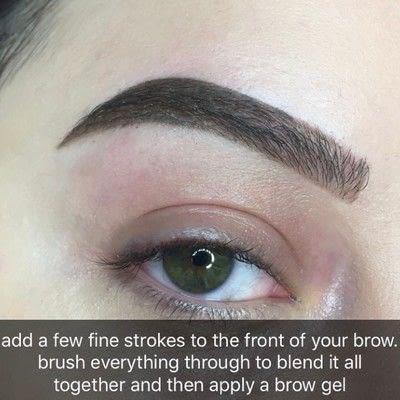 How to makeover an eyebrow. Bold Eyebrow Tutorial - Step 4