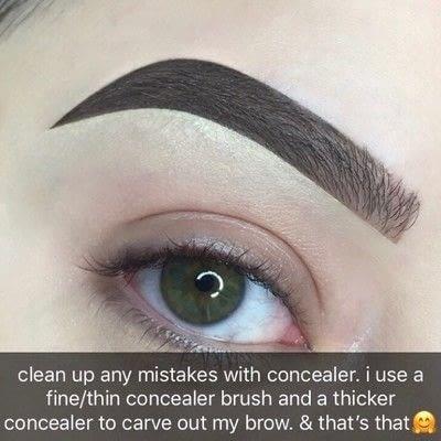 How to makeover an eyebrow. Bold Eyebrow Tutorial - Step 5