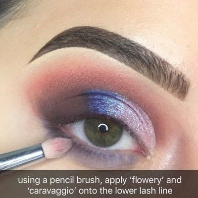 How to create a cut crease eye makeup look. Nabla Soul Blooming Palette Tutorial - Step 8