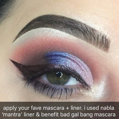 How to create a cut crease eye makeup look. Nabla Soul Blooming Palette Tutorial - Step 9