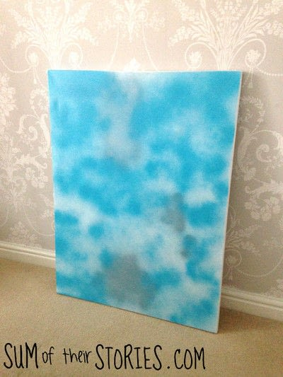 How to create a piece of abstract or patterned art. Paint Your Own Simple Abstract Art - Step 2
