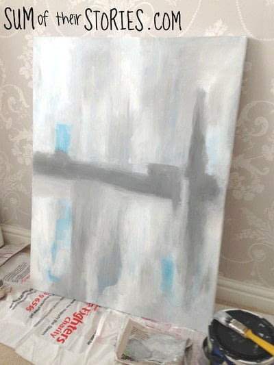 How to create a piece of abstract or patterned art. Paint Your Own Simple Abstract Art - Step 3
