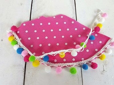 How to make a party hat. Polka Dot Party Hats! - Step 2