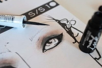 How to create a cat eye. Amy Lee Cat Eye Makeover - Step 8
