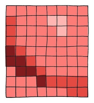 How to make a patchwork quilt. Red Balloon Quilt - Step 3