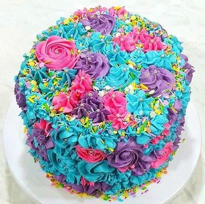 How to bake a chocolate cake. 3 Tier Chocolate Cake - Step 13