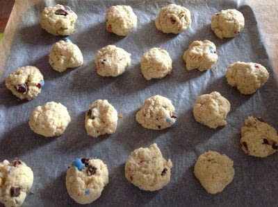 How to cook a baked treat. Mini Egg Scones - Step 4