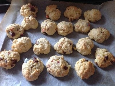 How to cook a baked treat. Mini Egg Scones - Step 5