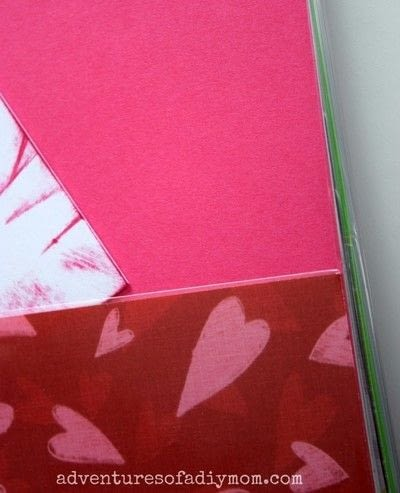 How to make a journal. Birthday Binder - Step 3