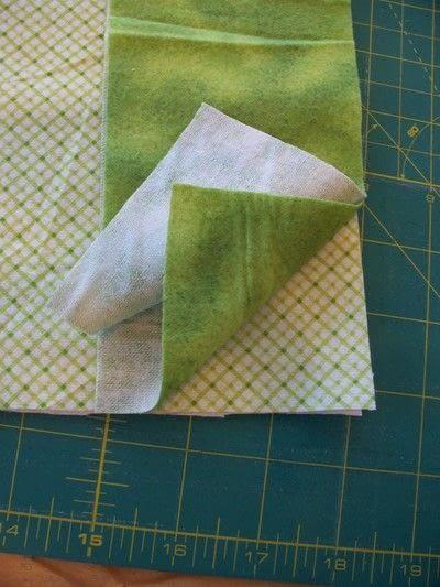How to make a burp cloths. Ragtop Burpcloths - Step 1