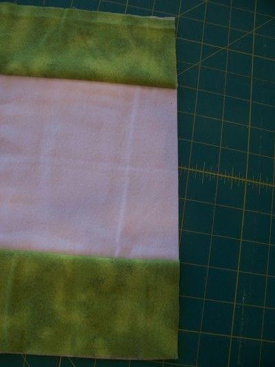 How to make a burp cloths. Ragtop Burpcloths - Step 2