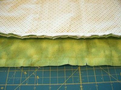How to make a burp cloths. Ragtop Burpcloths - Step 3
