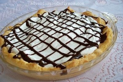 How to bake a cream pie. Eclair Pie Recipe - Step 1