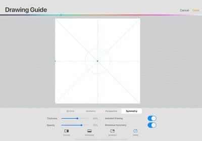 How to make a digital artwork. Wreath In Procreate - Step 1