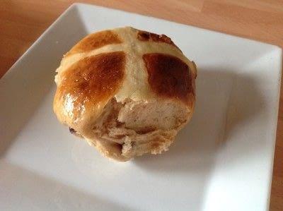 How to bake a hot cross bun. Hot Cross Buns - Step 15