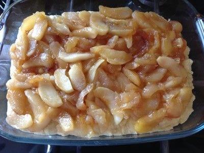 How to bake a bar / slice. Apple Slice - Step 7