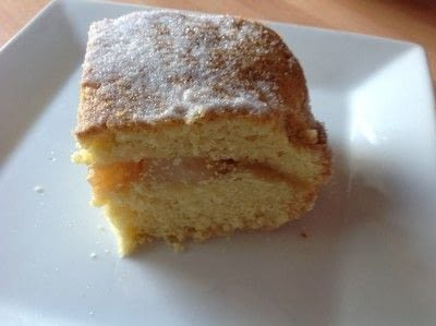 How to bake a bar / slice. Apple Slice - Step 10