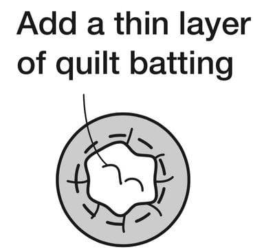 How to make a drawstring pouch. Mini Drawstring Bag - Step 10
