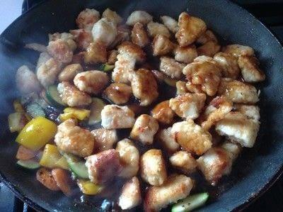 How to cook a chicken dish. Orange Chicken  - Step 9