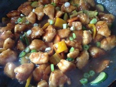 How to cook a chicken dish. Orange Chicken  - Step 10
